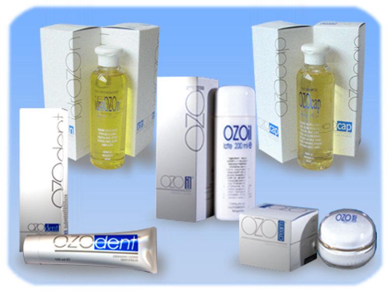 Prodotti cosmetici a base di ossigenozono
