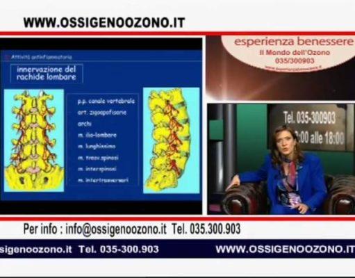 """Puntata di """"Esperienza Benessere"""" in cui il Prof. Marianno Franzini affronta il tema del trattamento del dolore con l'ossigeno ozono terapia."""