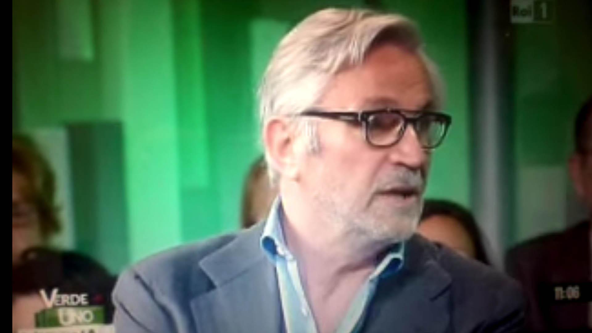 Il Prof. Franzini a Verde Uno Mattina